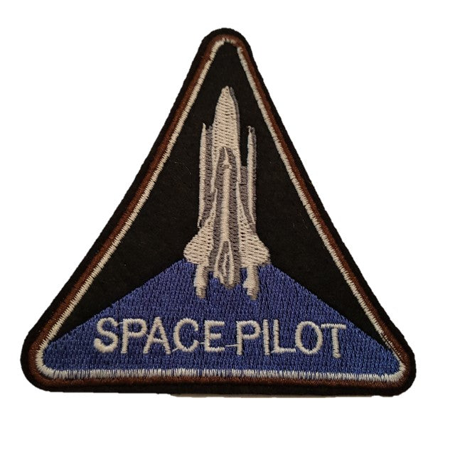 Space Pilot Iron On Patch