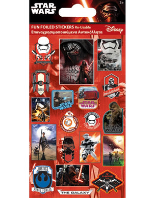 Star Wars The Force Awakens - Foiled Stickers 1 sheet