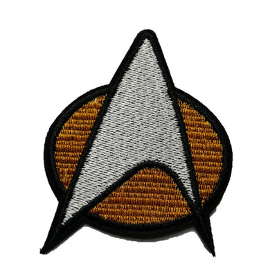 star trek iron on patch