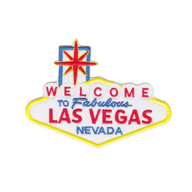 welcome to the fabulous Las Vegas Nevada sign Iron On Patch