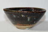 A Cizhou ware bowl with tortoishell glaze. - asianartlondon
