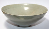 A Korean moulded celadon glazed bowl. - asianartlondon