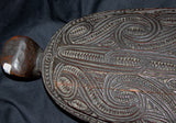 A fine Maori feather box - asianartlondon