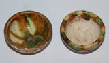Two sans tzai glazed small cups. Tang Dynaty. - asianartlondon