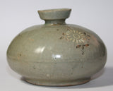 A Korean celadon oil jar. 13th Century. - asianartlondon