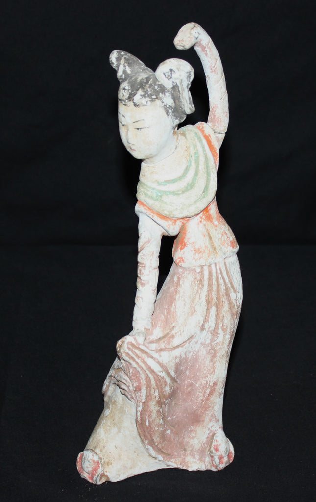 Tang Dynasty figure of a dancer. - asianartlondon