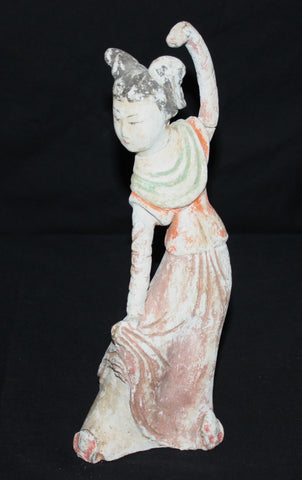 Tang Dynasty figure of a dancer.