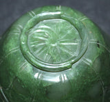 A Chinese spinach green jade cup. - asianartlondon