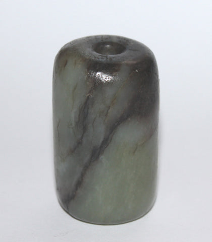 A jade bead. Yuan or earlier.