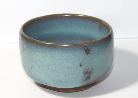 A Henan Cizhou type bowl with Jun type glaze.