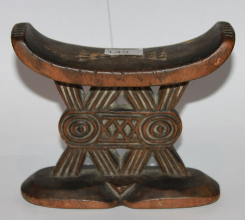 A Shona neckrest. Late 19th Century.