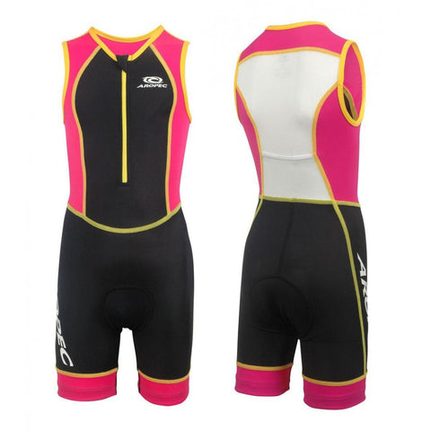 Aropec Triathlon Suit Pink/Black