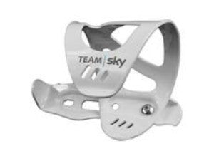 Team Sky Bottle Cage White