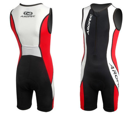 Aropec Triathlon Suit Red/White/Black