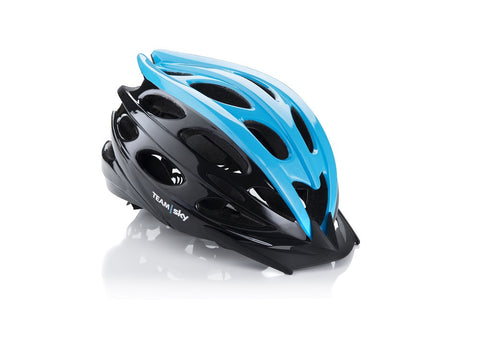 Black Team Sky Helmet Small 54-58 cm