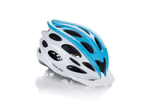 White Team Sky Helmet Small 54-58 cm