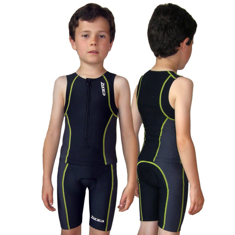 Zone 3 Kids Adventure Tri Shorts