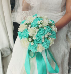 LLL. Artificial Bridal Bouquets