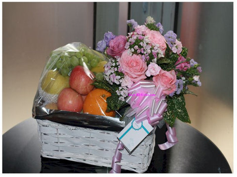 Fruits n Flower Basket - FRB5528