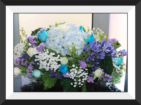 Blue/Purple/White Theme- WED0553