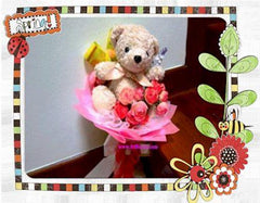 Small n Cute Bear Bouquet  - BBQ2039