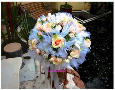 Artificial Rose Arrangement with Stand - ST8833