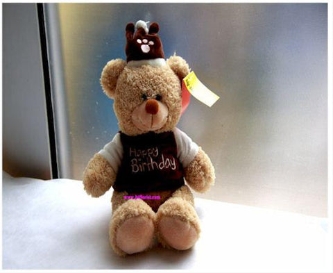 10 Inch Happy Birthday Bear     - MOD635