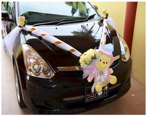 Pooh Special Theme Car Decoration     - WED0648