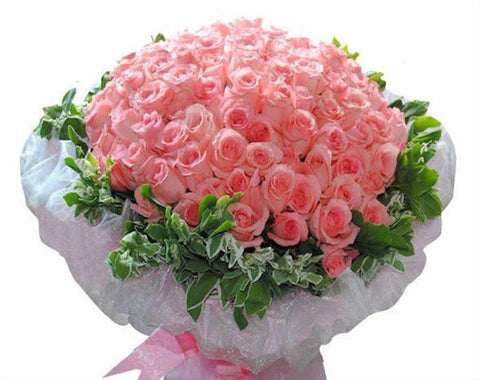 60 to 108 Pink Roses Bouquet       - FBQ1191