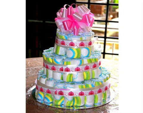 Princess Diaper Cake  - DIA3344