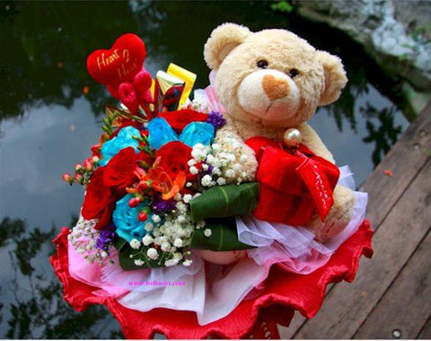 Special Bear Bouquet   - BBQ2091