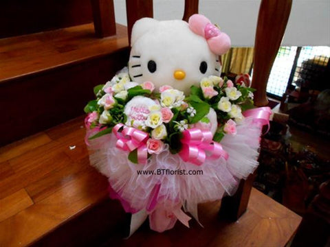 Pink Hello Kitty Bouquet - BBQ2124