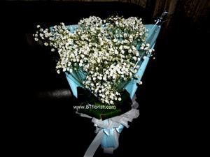 Simple Baby Breath Bouquet      - FBQ1315
