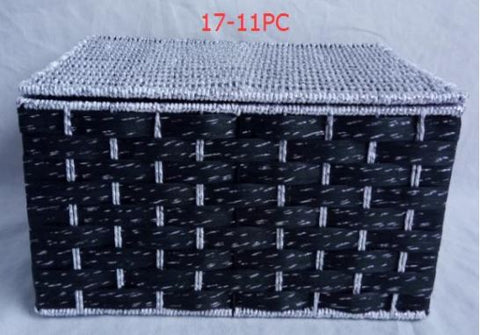 Basket with cover     - BAS1711