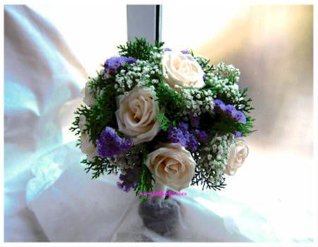 My Rose Bridal Bouquet  - WED0112