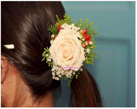 Rose Hair Piece  - WED0305