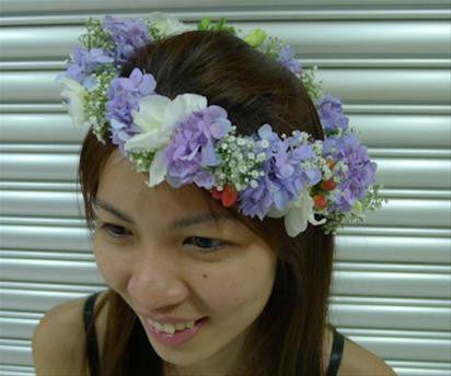 Lovely Headdress   - WED0302