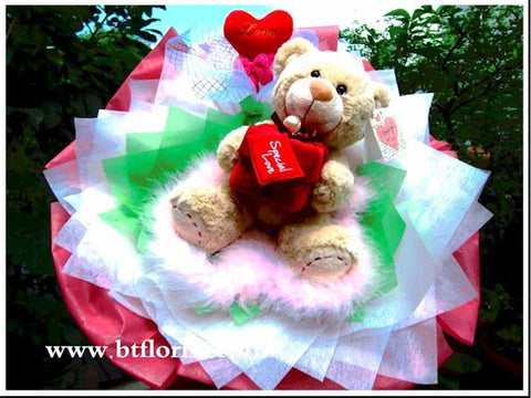 Wedding Proposal Bear Bouquet    - BBQ2003