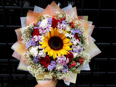 Sunflower/Rose Mix      - FBQ1099A