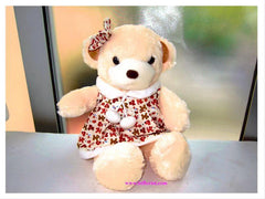 19 Inch Flower Girl Bear     - DIN005