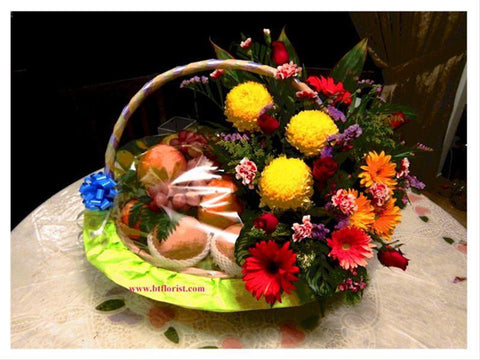 Sympathy Fruit Basket       - WRE9022