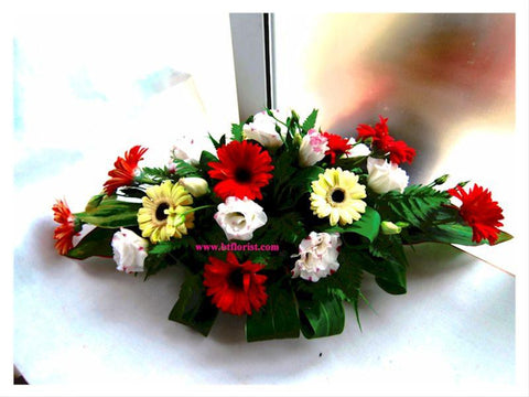 Gerbera Arrangement    - WED0518