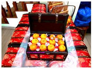 Mandarin Orange Treasure Box      - MOB0804R