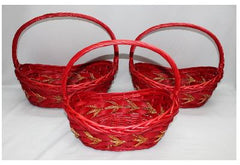 Red Basket III   - BAS6117