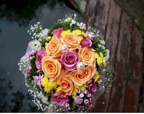 Simply Beautiful Bridal Bouquet  - WED0146