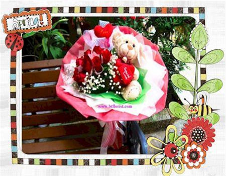 Proposal Bear Bouquet - BBQ2030val