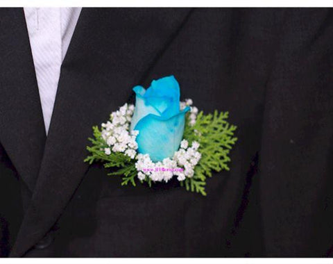 Blue Rose Corsage - WED0216
