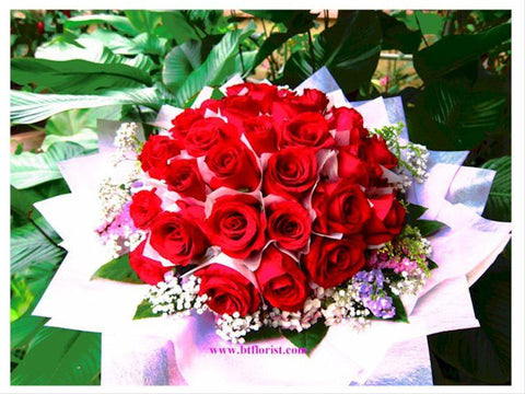 40 Red Roses - FBQ1132Tval