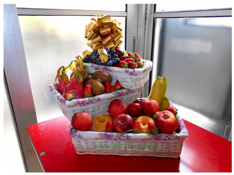 3 Tiers Fruit Basket - FRB5564