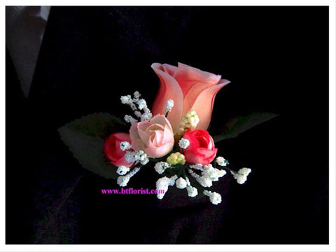 Artificial Pink Corsage VI      - ART0406